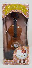 Rare Vintage 1999 Sanrio Hello Kitty Musical Toy Violin Plays 8 Songs Mib