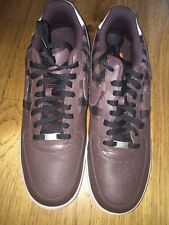 Air Force Ones '82. Brown And Brown Plaid. Size 14
