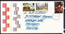 Great Britain 1967 Paintings First Day Cover Aberdeen