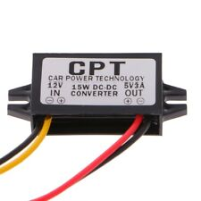 DC/DC Converter Regulator Car LED Display 12V To 5V 3A 15W Power Supply Module