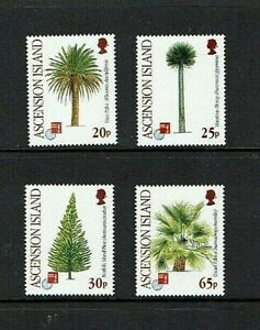Ascension Island: 1997  Trees, MNH set