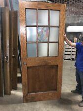 Vintage Oak School House Door Antique Office Door 30�-36� Several Avail