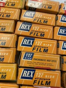 NOS REX 127 ALL PURPOSE CAMERA FILM SEALED ~ EXPIRED ~ PRICE IS FOR 1