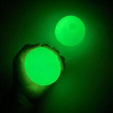 4pcs Stress Relief Sticky Squeeze Balls Noctilucent Luminous Wall Balls Kids Toy