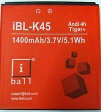 100% Original Battery For iBall iBL-K45 Andi 4h Tiger+ 1400mAh