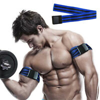 Blood Flow Restriction Fitness Occlusion Training Band Arm Leg Muscle Grow Gym