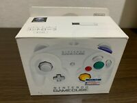 Nintendo GameCube Controller DOL-003 White Color with BOX and Manual
