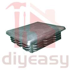Plastic End Cap Square 90x90 mm Fence Post Tube Flat Top x1
