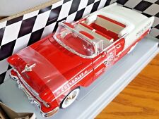 Chevy 1955 Indy Pace Car American Muscle 1:18 Scale Ertl Die Cast Collectors