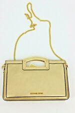 MICHAEL Michael Kors Berkley Legacy Large Clutch Bag - Pale Gold
