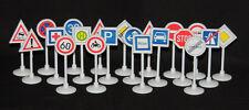 Verkehrszeichen Spielzeug Kinder Set 21 Stück Verkehrserziehung Schilder Neu&OVP
