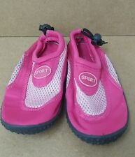 Girls Pink Water Shoes Size 13 <J5677