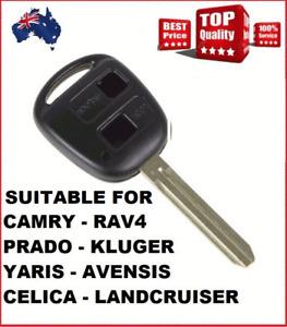 1x Car key shell Suitable for TOYOTA Rav4 Corolla Camry Prado Hilux Yaris PRADO