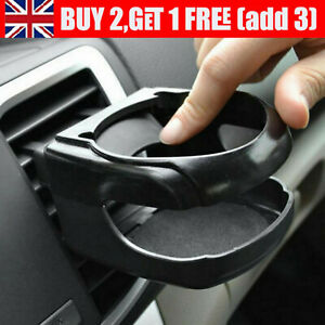 Universal Clip-on Cup Holder For Car Van Air Vent Holds Bottle Can Drink UK A
