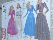 Schnittmuster Butterick 5710 Abendkleid Brautkleid Wasserfallausschnitt 32-48