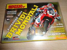 DVD MOTOSPRINT SUPERBIKE 2004 BRIVIDI MONDIALI IMMAGINI ESCLUSIVE CONTI EDITORE