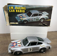 Rare Vintage SOLID STATE Am Racing Radio Porsche Toy Car Modelised 22908* READ*