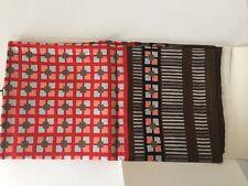"carres Yves Saint Laurent YSL Silk Scarf Wrap  Geometric Pattern 34""x34"" new"