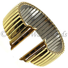 42mm Milano Shiny Gold Tone Stainless Steel Mens Band FITS APPLEWATCH SERIES 1&2