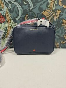 Lulu Guinness Small Patty Bag - Grainy Navy Leather (F52)