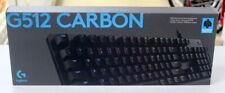 Logitech G512 Carbon RGB Mechanical Gaming Keyboard - GX Brown Tactile
