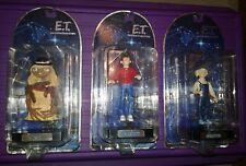 E.T. action figure lot Et Elliott Gertie limited edition Rare