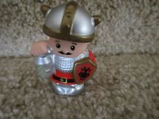Fisher Price Little People Castle Palace Mighty Kings Red Soldier Knight lantern