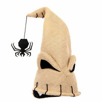 Adult Child Nightmare Before Christmas Oogie Boogie Halloween Costume Beige Hat