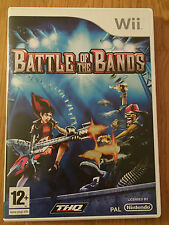 NINTENDO Wii - BATTLE OF THE BANDS Wii game with box and instructions.