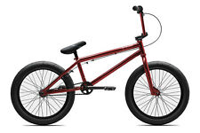 "2018 Verde Eon XL 20"" Complete BMX Bike 21""TT Trans Red"