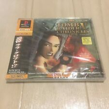 Japan USED PS1 PS PlayStation 1 Tomb Raider 5: Chronicles IMPORT