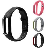 Silicon Soft Wrist Strap WristBand Bracelet fit XIAOMI MI Band 2 / MI  LYM