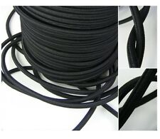 4 6 8 10 MM EXTRA STRONG BLACK ELASTIC BUNGEE ROPE SHOCK CORD TIE DOWN FREE P&P