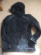 Campris Black  Ladies Hooded Sports Jacket 12 💕