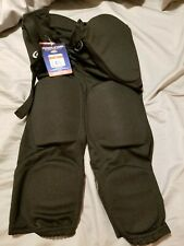 Rawlings Adult Football Pants Black Small S F3500P Integrated Pads New Nwt