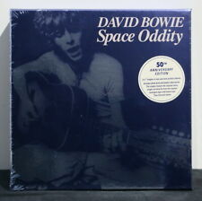 "DAVID BOWIE 'Space Oddity' 50th Anniversary 2x7"" Box + Photo Print & Poster NEW"