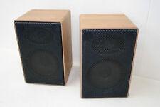 2x beau ancienne DDR Boîte de compacte B9225 Haut-parleur,Retro Vintage Enceinte