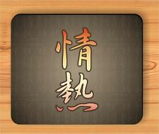 ASIAN CALLIGRAPHY PASSION FASHION MOUSE PAD -dey6Z