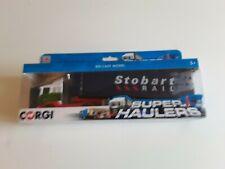 Corgi Superhaulers Eddie Stobart Rail Die Cast Truck