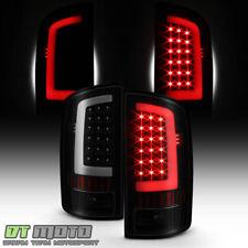 NEW Blk Smoek 2002-2006 Dodge Ram 1500 03-06 2500 3500 LED Bar Tail Lights Lamps