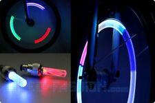Leuchtende Multicolor-Ventilkappen