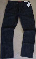 Guess Straight Leg Jeans Men's Size 33 X 32 Regular Straight Leg Dark Rinse Wash