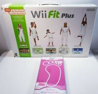 Nintendo Wii Fit Plus with Balance Board in Open Box with New Protection Cover