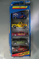 Hot Wheels 1:64 Scale 1998 HOUSE CALLS GIFT PACK