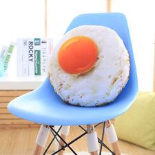 Creative 3D Simulation Omelette Plush Cushion Sofa Pillow Lovely Birthday Gift