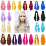 New Woman 80cm Long Curly Wigs Fashion Cosplay Costume Anime Hair Wavy Full Wigs
