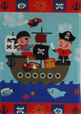 "12x18 12""x18"" Pirate Kids Children Boat Nautical Vertical Sleeve Flag Garden"