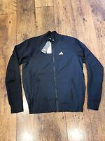 GENUINE Adidas Bomber Jacket Black *Brand NEW* Mens Size Medium (M)