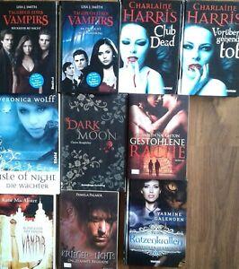 Vampir Dämonen Bücher Paket 10x Fantasy Buch Konvolut Vampire Vampirs