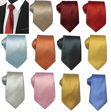 Men's Silky Classic Swirl Jacquard Woven Striped Necktie Tie Gift Wedding Prom